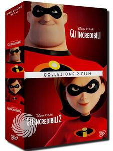 GLI INCREDIBILI 1 & 2 - DVD - thumb - MediaWorld.it