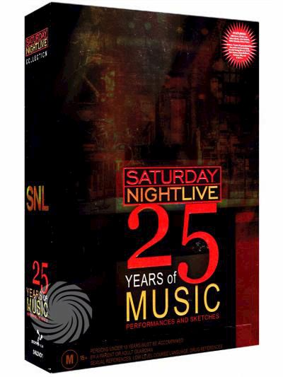 Saturday nightlive - 25 years of music - DVD - thumb - MediaWorld.it