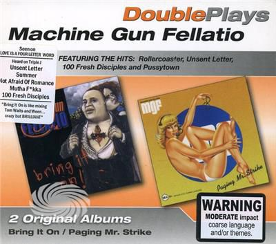 Machine Gun Fellatio - Paging Mr Strike/Bring It On - CD - thumb - MediaWorld.it