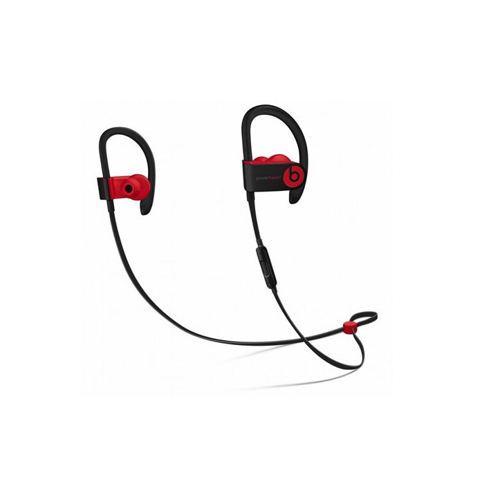 BEATS BY DR.DRE Powerbeats3 Wireless - Nero/rosso ribelle - thumb - MediaWorld.it