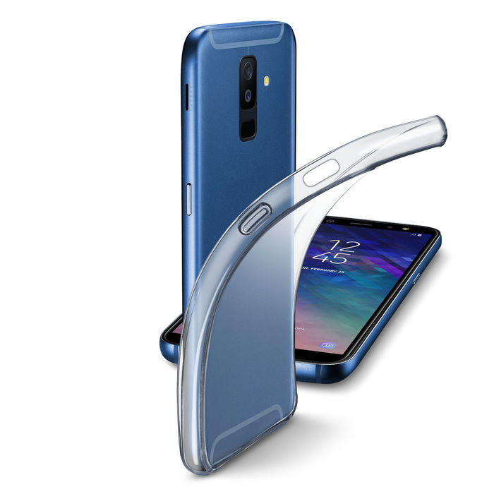 Cellularline Cover Retro Fine Galaxy A6+ (2018) Trasp - PRMG GRADING KNBN - SCONTO 22,50% - thumb - MediaWorld.it
