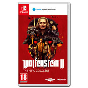 Wolfenstein II - The New Colossus - NSW - MediaWorld.it