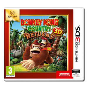 Donkey Kong Country Returns (Nintendo Select) - 3DS