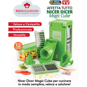MEDIASHOPPING Nicer Dicer Magic Cube - MediaWorld.it