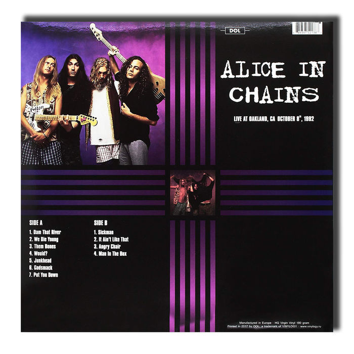 Alice In Chains - Live In Oakland October 8Th 1992 - Vinile - thumb - MediaWorld.it