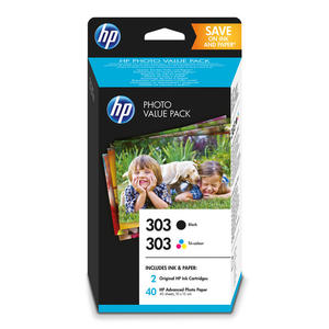 HP 303 PHOTO VALUE PACK - thumb - MediaWorld.it