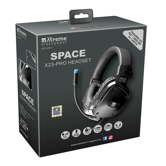 XTREME SPACE X23-PRO HEADSET - PRMG GRADING KNCN - SCONTO 35,00% - thumb - MediaWorld.it