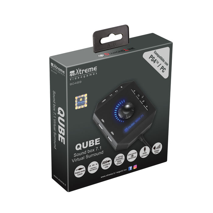 XTREME QUBE CENTRALINA 7.1 V.S. - thumb - MediaWorld.it
