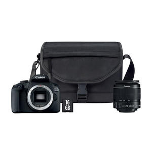 CANON EOS 2000D 18-55 IS + Borsa e scheda Memoria - MediaWorld.it