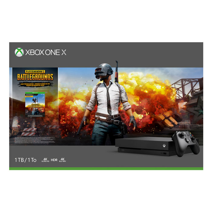MICROSOFT XBOX ONE X 1 TB + Playerunknown's Battleground - thumb - MediaWorld.it
