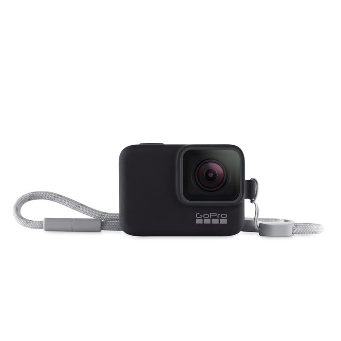 GOPRO Guaina + cordino Hero 7 - Black - thumb - MediaWorld.it
