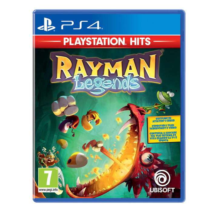 Rayman Legends (Hits) - PS4 - thumb - MediaWorld.it