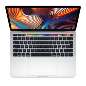 "APPLE Macbook Pro 13"" 256GB Silver MR9U2T/A 2018 - MediaWorld.it"