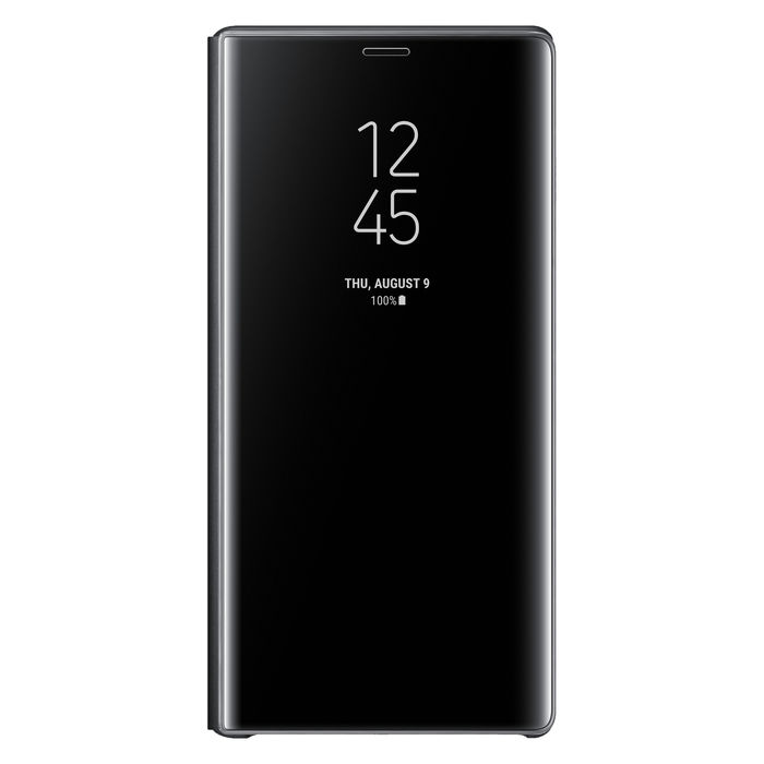 SAMSUNG Galaxy Note9 Clear View Standing Black - thumb - MediaWorld.it