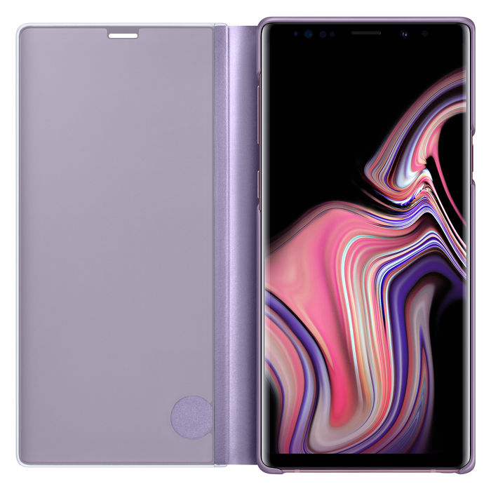 SAMSUNG Galaxy Note9 Clear View Standing Viola - thumb - MediaWorld.it