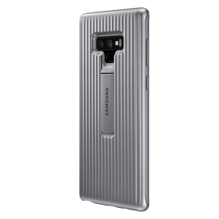 SAMSUNG SAMSUNG Protective Standing Cover Galaxy Note9 Silver - thumb - MediaWorld.it