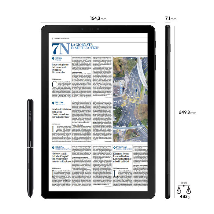 SAMSUNG Galaxy Tab S4 LTE - thumb - MediaWorld.it
