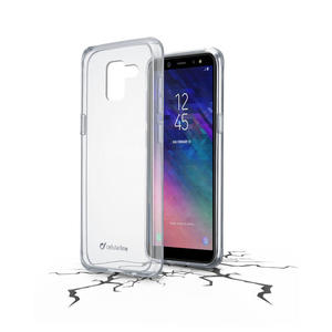 Cellularline cover trasparente Galaxy A6 2018 - thumb - MediaWorld.it