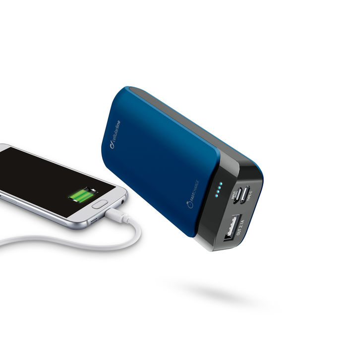 CELLULAR LINE PowerUp 5200 Caricabatterie portatile - thumb - MediaWorld.it