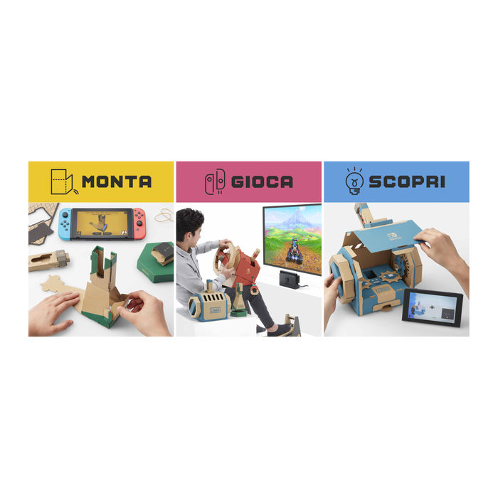 NINTENDO LABO Kit Veicoli - NSW - thumb - MediaWorld.it