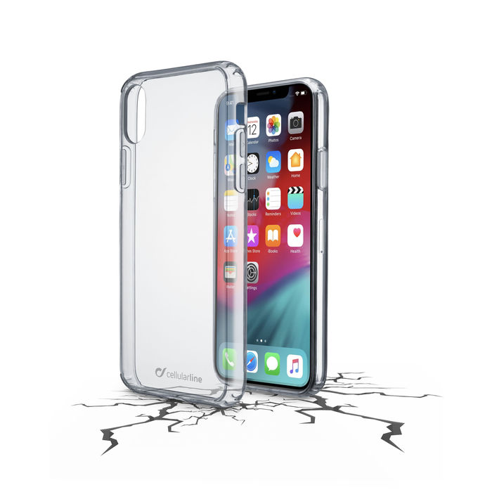 CELLULAR LINE Clear Duo - Cover trasparente per iPhone Xs Max - thumb - MediaWorld.it