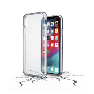 CELLULAR LINE Clear Duo - Cover trasparente per iPhone Xs Max - MediaWorld.it