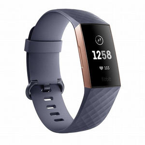 FITBIT Charge 3 Grigio / Blu - thumb - MediaWorld.it