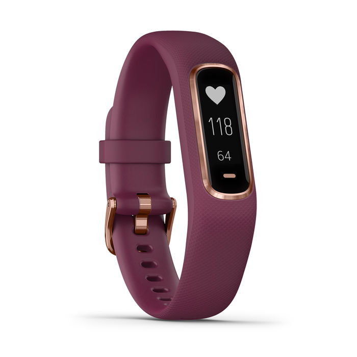 GARMIN Vívosmart 4 Berry/Rosegold - Small/Medium - thumb - MediaWorld.it