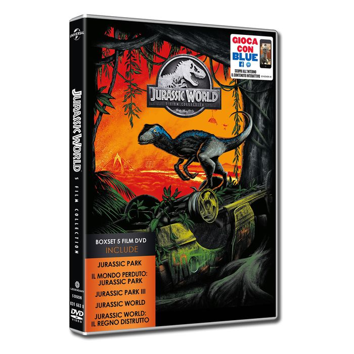 Jurassic 5 Movie Collection - DVD - thumb - MediaWorld.it