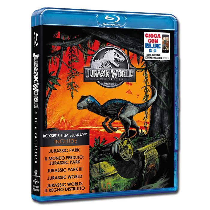 Jurassic 5 Movie Collection - Blu-Ray - thumb - MediaWorld.it