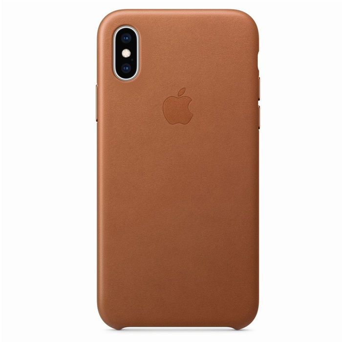 APPLE Cover pelle Iphone Xs Cuoio - thumb - MediaWorld.it