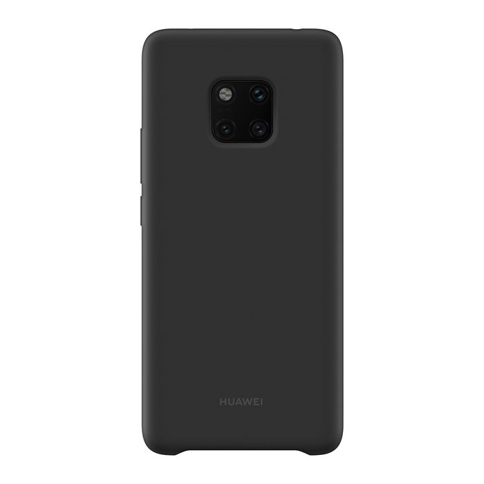 HUAWEI Silicone Car Case Mate 20 Black - thumb - MediaWorld.it