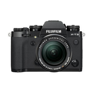 FUJIFILM X-T3 KIT XF18/55mm Black - thumb - MediaWorld.it