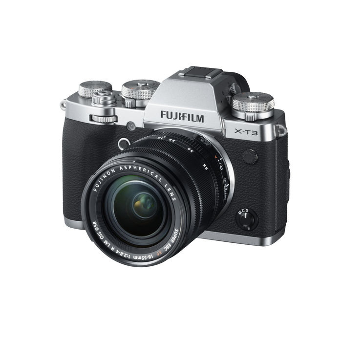 FUJIFILM X-T3 KIT XF18/55mm Silver - thumb - MediaWorld.it