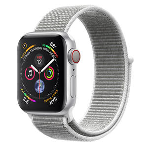 APPLE Watch Series 4 GPS+Cellular 40mm in alluminio Argento - Sport Loop conchiglia - MediaWorld.it