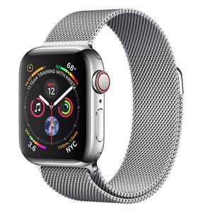 APPLE WATCH Series 4 GPS+Cellular 40 mm in acciaio - Loop in maglia milanese - MediaWorld.it