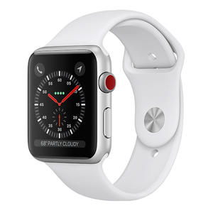 APPLE Watch Series 3 GPS+Cellular 38mm in alluminio color argento - Sport bianco - MediaWorld.it