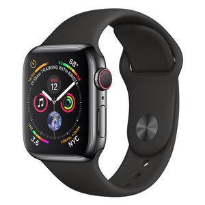 APPLE WATCH Series 4 GPS+Cellular 40 mm in acciaio nero siderale - Sport Nero - MediaWorld.it