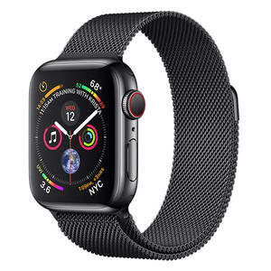 APPLE WATCH Series 4 GPS+Cellular 40 mm in acciaio nero siderale - Maglia Milanese Nero Siderale - MediaWorld.it