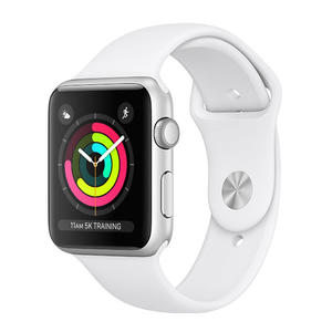 APPLE Watch Series 3 GPS 42mm alluminio color argento - Cinturino Sport bianco - MediaWorld.it