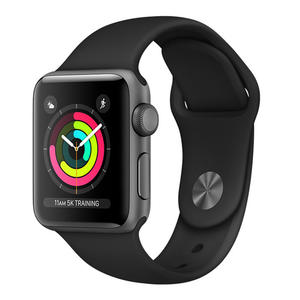 APPLE Watch Series 3 GPS 38mm in alluminio grigio siderale - Sport nero - MediaWorld.it