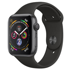 APPLE Watch Series 4 GPS 44mm Alluminio Grigio Siderale - Sport Nero - MediaWorld.it
