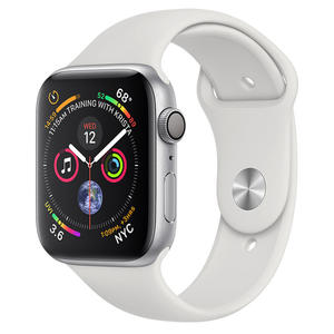 APPLE Watch Series 4 GPS 44 mm in Alluminio Color Argento - cinturino Sport Bianco - MediaWorld.it