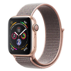 APPLE Watch Series 4 GPS 40mm in alluminio color oro - Sport Loop Rosa Sabbia - MediaWorld.it