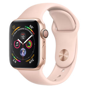 APPLE Watch Series 4 GPS 40mm in alluminio color oro - Sport Rosa Sabbia - MediaWorld.it