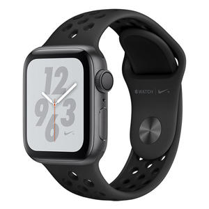 APPLE Watch Serie 4 Nike GPS 40mm in Alluminio Color Grigio Siderale - Cinturino Nike Sport Antracite/Nero - thumb - MediaWorld.it