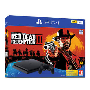 SONY PS4 1TB F + Red Dead Redemption 2 - thumb - MediaWorld.it