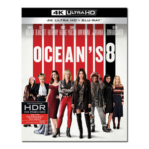 Ocean's 8 - Blu-Ray  UHD - thumb - MediaWorld.it