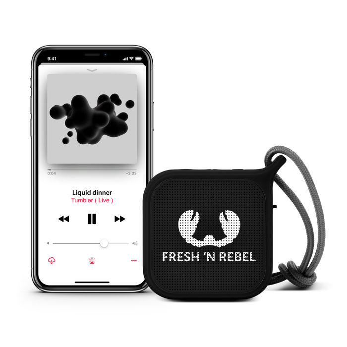 FRESH 'N REBEL ROCKBOX PEBBLE NERO - thumb - MediaWorld.it