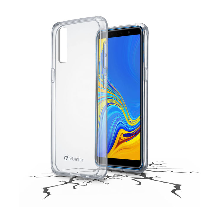 CELLULAR LINE CLEAR DUO GAL A7 2018T - thumb - MediaWorld.it